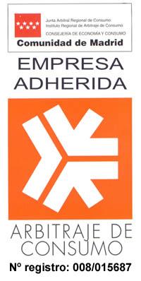 """Logotipo Arbitraje de Consumo Comunidad de Madrid - Ir a página """"Defensa cliente"""""""