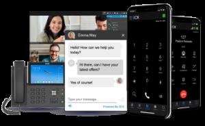 web, smartphone y teléfonos de sobremesa